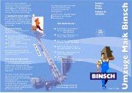 Umzugs-Checkliste - Spedition Maik Binsch GmbH