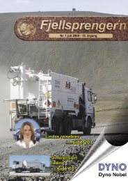 Fjellsprengern Nummer 1_2004.pdf - Orica Mining Services