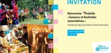 Invitation 16/06/09 à télécharger - Proj'aide - Conseil général du Val ...