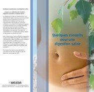 Quelques conseils pour une digestion saine - Weleda