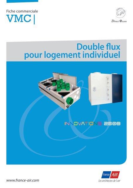 Double flux pour logement individuel - France Air