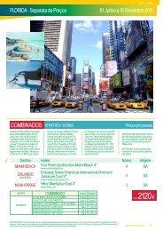 FLORIDA · Separata de Preços 01 Junho a 18 ... - Terra Brasil