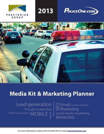 2013 Media Kit & Marketing Planner