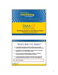 What's Web 2.0, Really? - Content Management Corporation