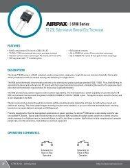 6700 Series - Airpax - Sensata