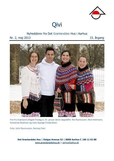 Nyhedsbrev fra Det Grønlandske Hus i Aarhus Nr. 2, maj 2013 15 ...