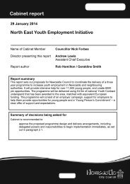 Cabinet report Youth Employment jan 2014 final