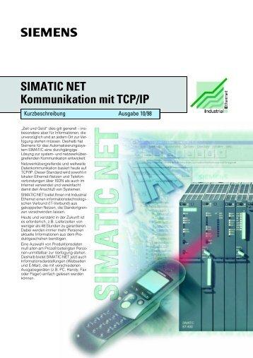 SIMATIC NET Kommunikation mit TCP/IP - CERN