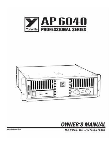 AP 6040 - Dynamic Music