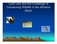 Land Use and the Challenge of Conserving Wildlife in the Almanor ...