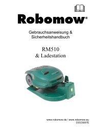 Robomow RM510 - myRobotcenter