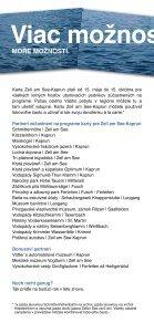Ako si zaistíte kartu Zell am See-Kaprun? - CKPK - Page 4