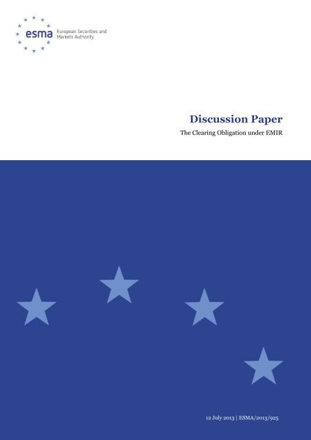 Discussion Paper - Plesner