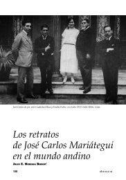 Los retratos de José Carlos Mariátegui en el mundo andino - Desco