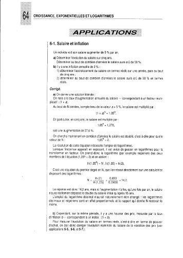Exercices - Cours d'économétrie et d'analyse des données