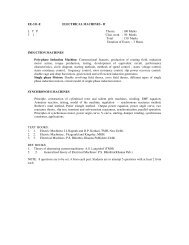 EE-311-E ELECTRICAL MACHINES - II L   T   P     Theory : 100 ...