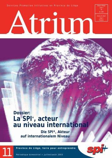 Télécharger l'Atrium 11 - Spi