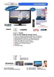 UltraMedia LCD1925SAT