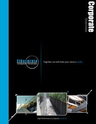 to view our Corporate Overview - Fibergrate Composite Structures Inc.