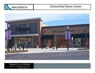 Chesterfield Towne Center General Information TCM - Macerich