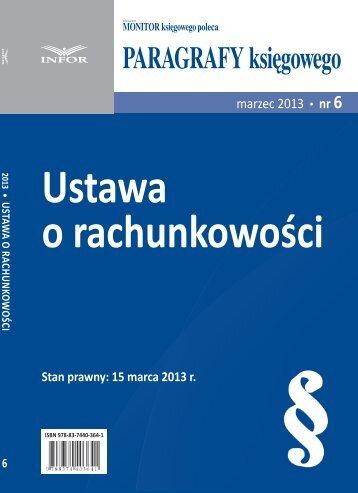 Ustawa o rachunkowości - Infor