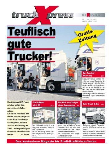 LKW-Fahrer Horoskop November 2011 - Das neue Fahrermagazin ...