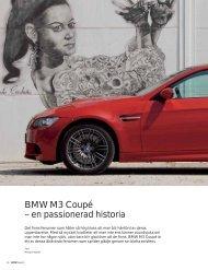 Ladda ner artikeln Läs om nya BMW M3 Coupé, modellen som ...