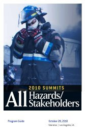 Hazards/ Stakeholders - Navigator