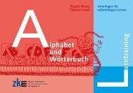 Lerntraining Alphabet und Wörterbuch (Duden)