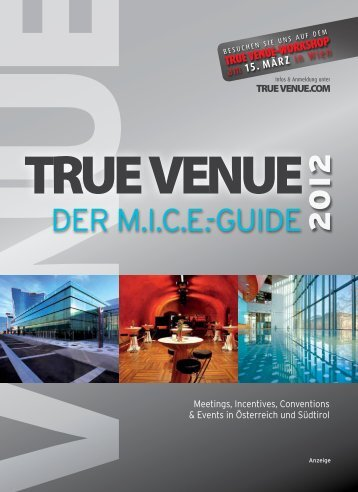 15. März - True Venue