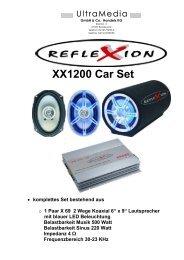 XX1200 Car Set