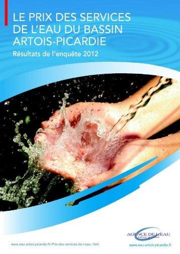 Le prix des services - Agence de l'eau Artois Picardie
