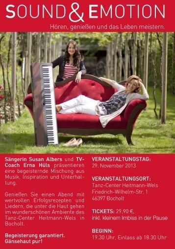 SOUND EmOtiON - Erna Hüls