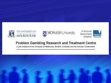 Risk and Protective Factors in Problem Gambling - European ...