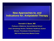 New Approaches to and Indications for Antiplatelet Therapy - Dr ...
