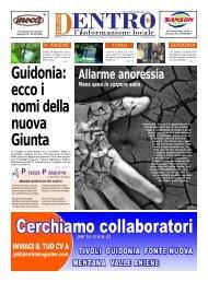 Guidonia: ecco i nomi della nuova Giunta - La Voce del Nord Est ...