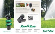 5000 Series Brochure - Rain Bird