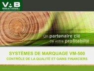 Télécharger la fiche PDF - VAB Solutions