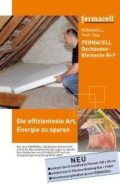 Dachboden-Element N+F - Fermacell