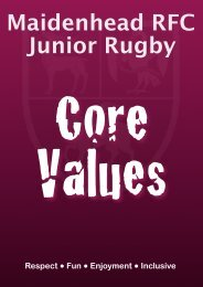 MRFC Core Values
