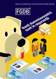 fondul de garantare a depozitelor în sistemul bancar - FGDB