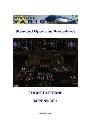 Appendice 1 - Flight Patterns - Virtual Varig Brasil