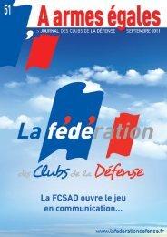 La FCSAD ouvre le jeu de la communication… - La fédération des ...