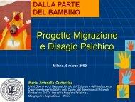 migrazione e disagio psichico - E. Medea