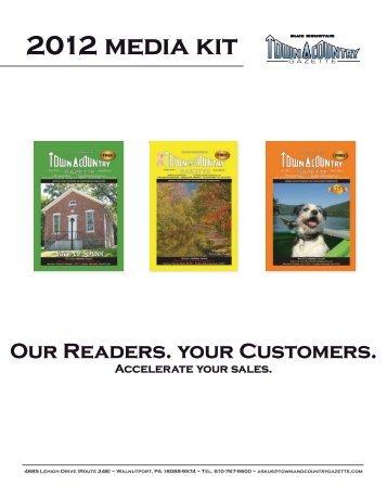 2012 media kit - Blue Mountain Town & Country Gazette