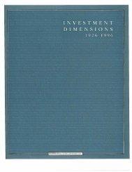 1996 DFA Matrix Book snapshot