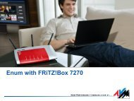 Enum with FRiTZ!Box 7270 - Cz.NIC