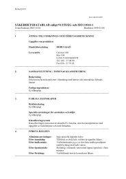 """SÃ""""KERHETSDATABLAD enligt 91/155/EG och ISO 11014-1 - Smelink"""