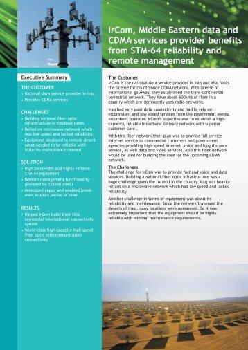 Executive Summary - Tejas Networks