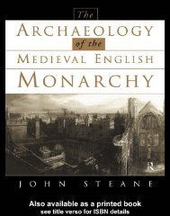 Routledge_Archaeology_of_the_Medieval_English_M